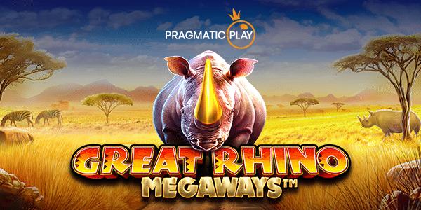Pelit esittelyssä - Great Rhino Megaways