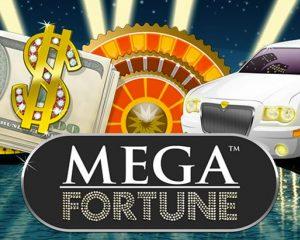 Netent kasinot: mega fortune